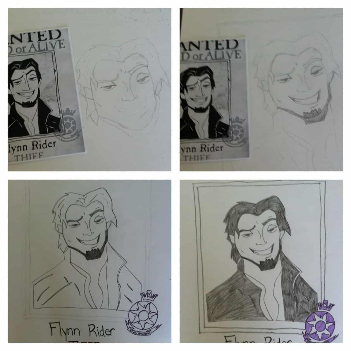 Flynn Rider Wanted Poster http://www.teachablemommy.com/2012/03/14/tangled-birthday-party-games-activities/