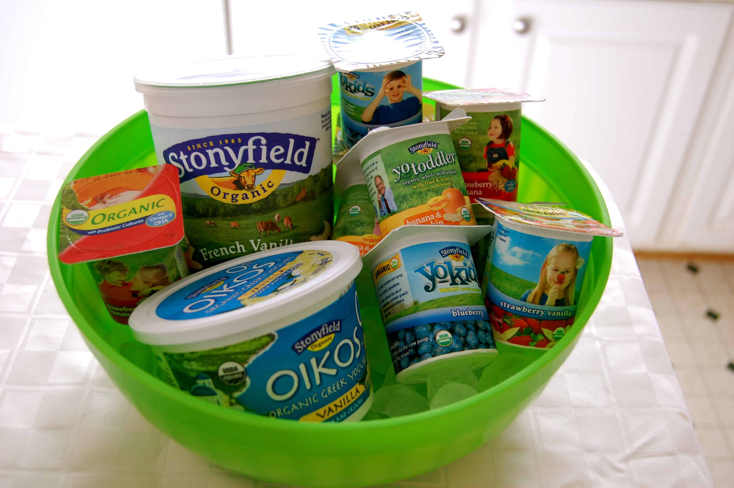 Stonyfield Yo-Toddler and Yo-Kids Party - Teachable Mommy