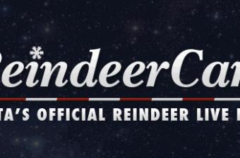 Christmas Fun: Live Reindeer Cam, Watch Santa Feed The Reindeer!