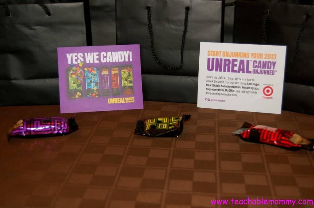 unreal candy gmo free, no junk