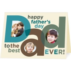 Treat Father's Day Card #treatgifts