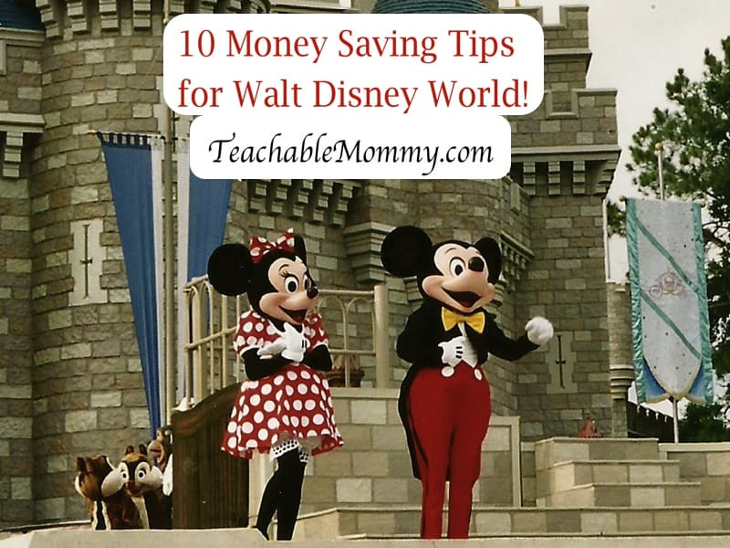 Saving Money at Disney World, Saving money on a Disney Vacation, Disney Savings, Disney World Trip