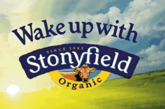 #WakeUpWithStonyfield : Wake Up Happy and Share the Love!