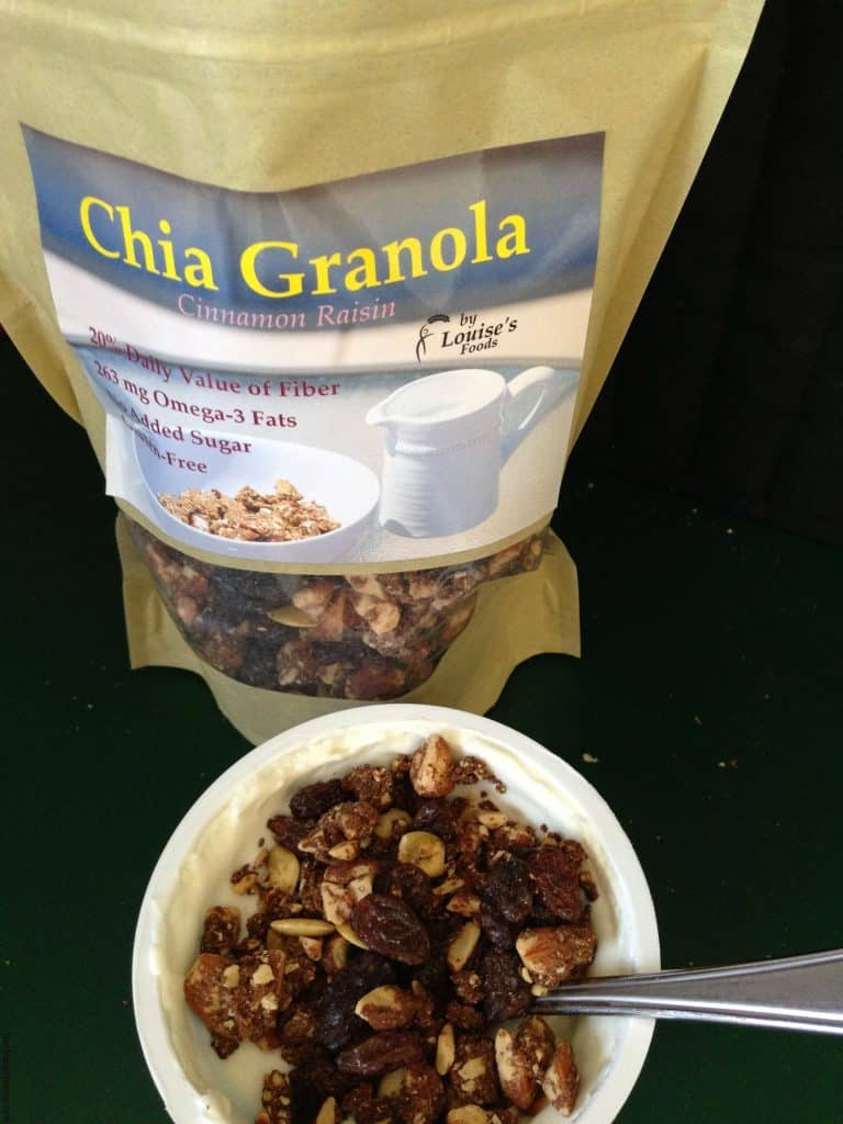Louise's Foods, Chia Granola, Granola and Yogurt, Healthy Breakfast Ideas