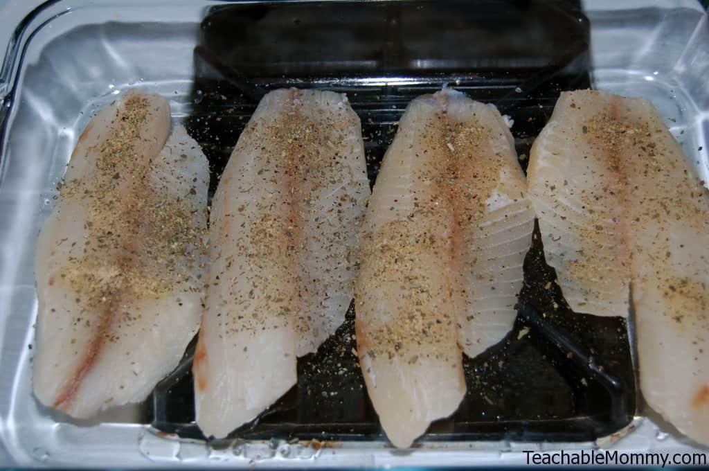 Baked Parmesan Tilapia