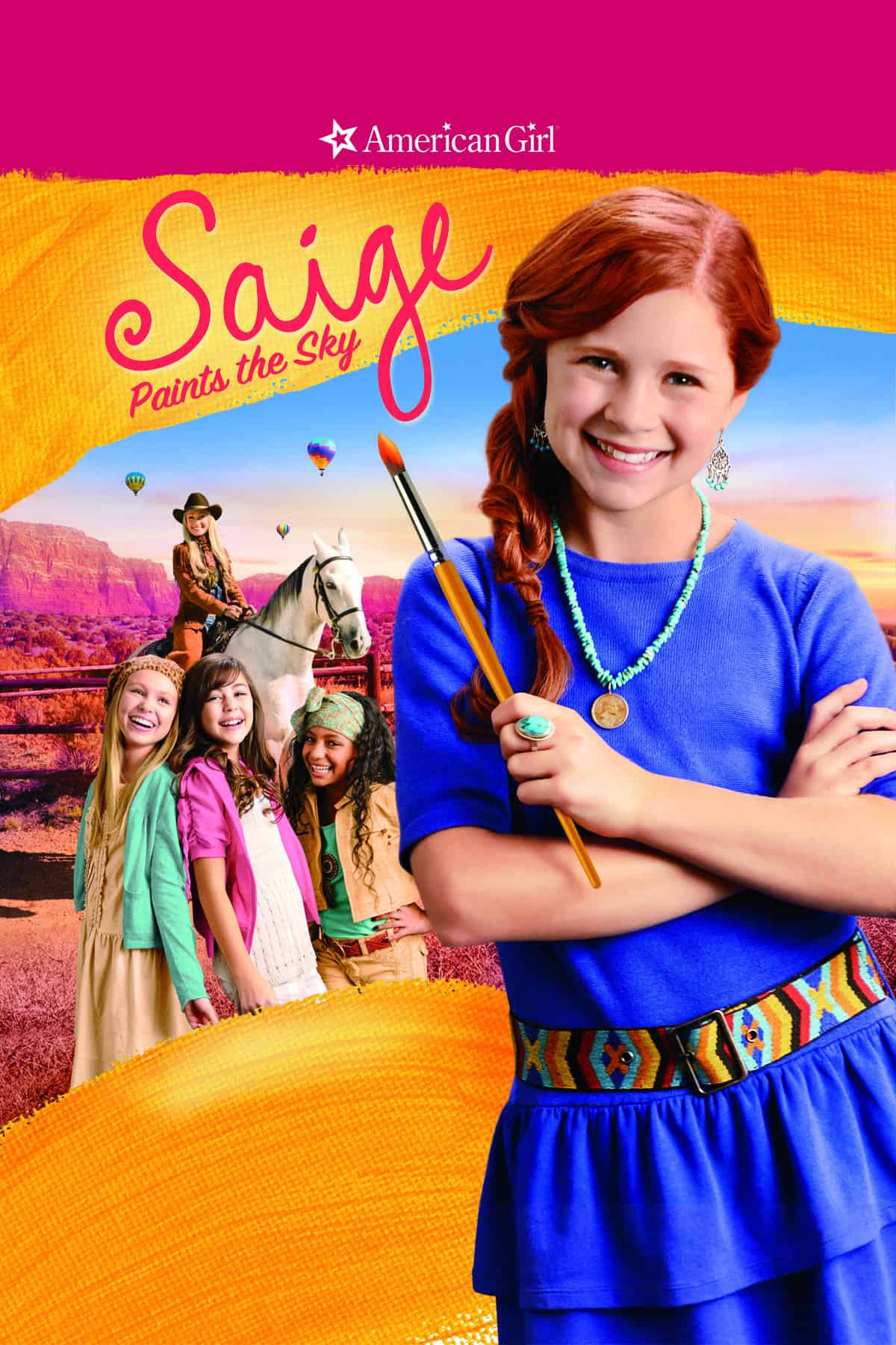 All American Girl Movie all new american girl movie: saige paints the sky! - with