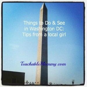 Washington DC places to see, tourist places, visit DC