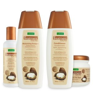 nuNAAT Curly Hair Treatment Collection