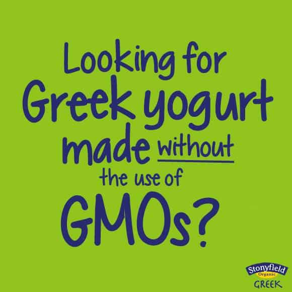 Stonyfield Greek Yogurt, Organic, NonGMOs