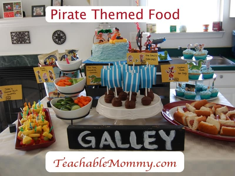 Disney Activities for kids, Tangled food, Jake and the neverland pirate party, Disney Trip, peter pan party, pirate food