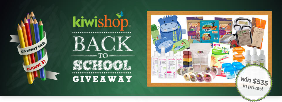 KIWI Shop Back to School Giveaway