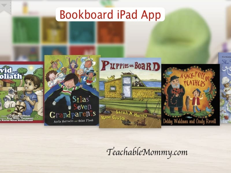 Bookboard iPad reading app for kids, iPad apps for kids
