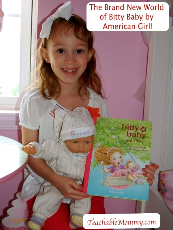 American Girl's New Bitty Baby line!