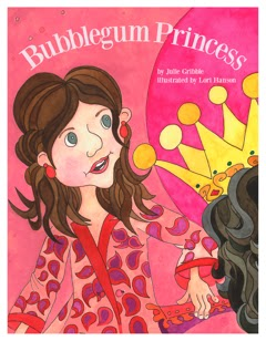 Bubblegum Princess, children's book, royal family