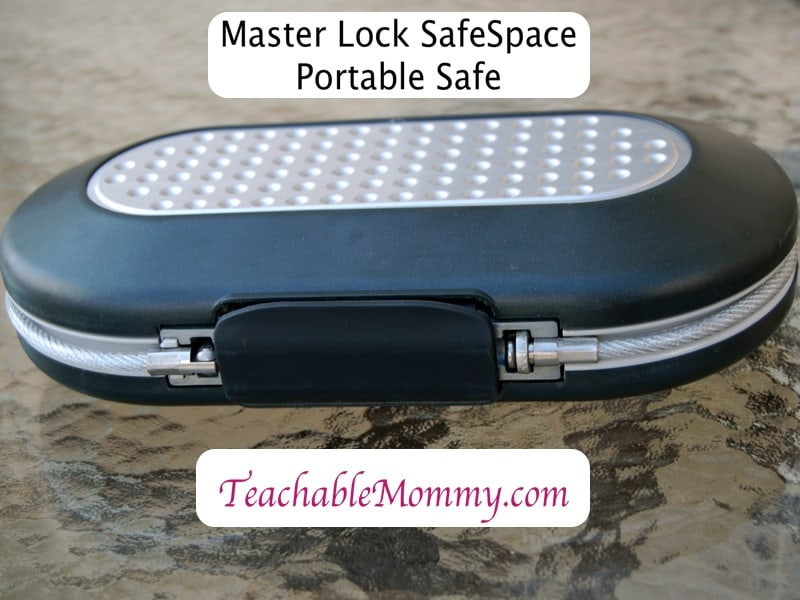 Master Lock SafeSpace, Portable Safe, Travel Safety, #Masterbacktoschool