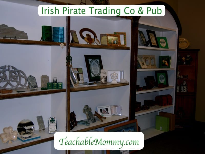 irish pirate trading company and pub, celtic jewelry, emerald isle
