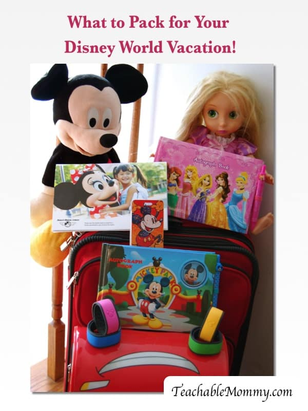 What to Pack for your Disney World Vacation, Disney World Packing list, Disney World Trip, Disney World Vacation