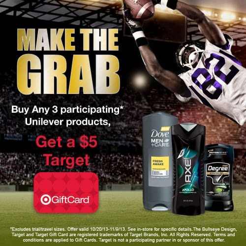 Save Your Season QB Challenge with Target and Unilever!