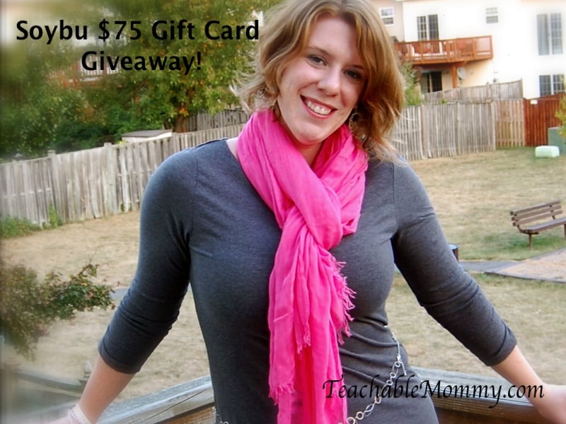 Soybu $75 Giftcard Giveaway! Women's clothing website, ecofriendly clothing