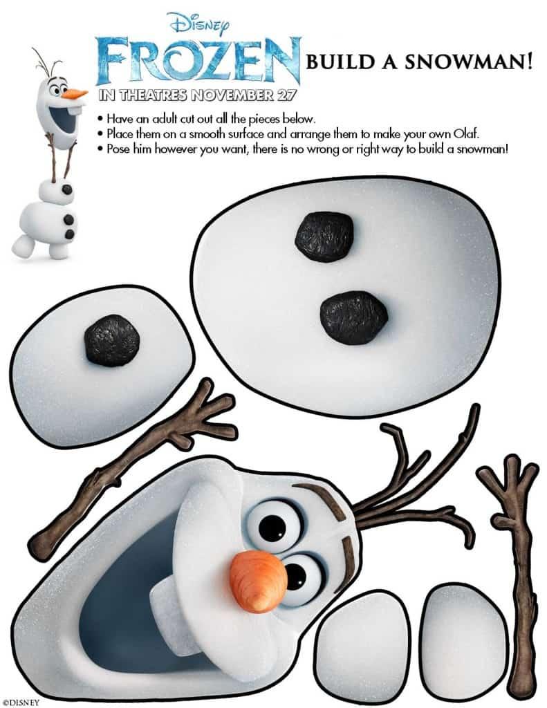 Frozen free printables!