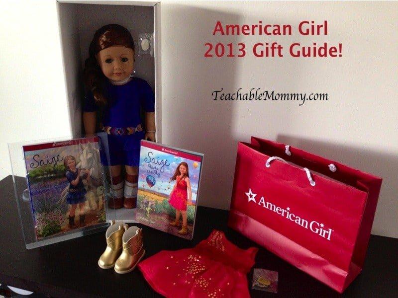 American Girl Gift Guide, American Girl Saige