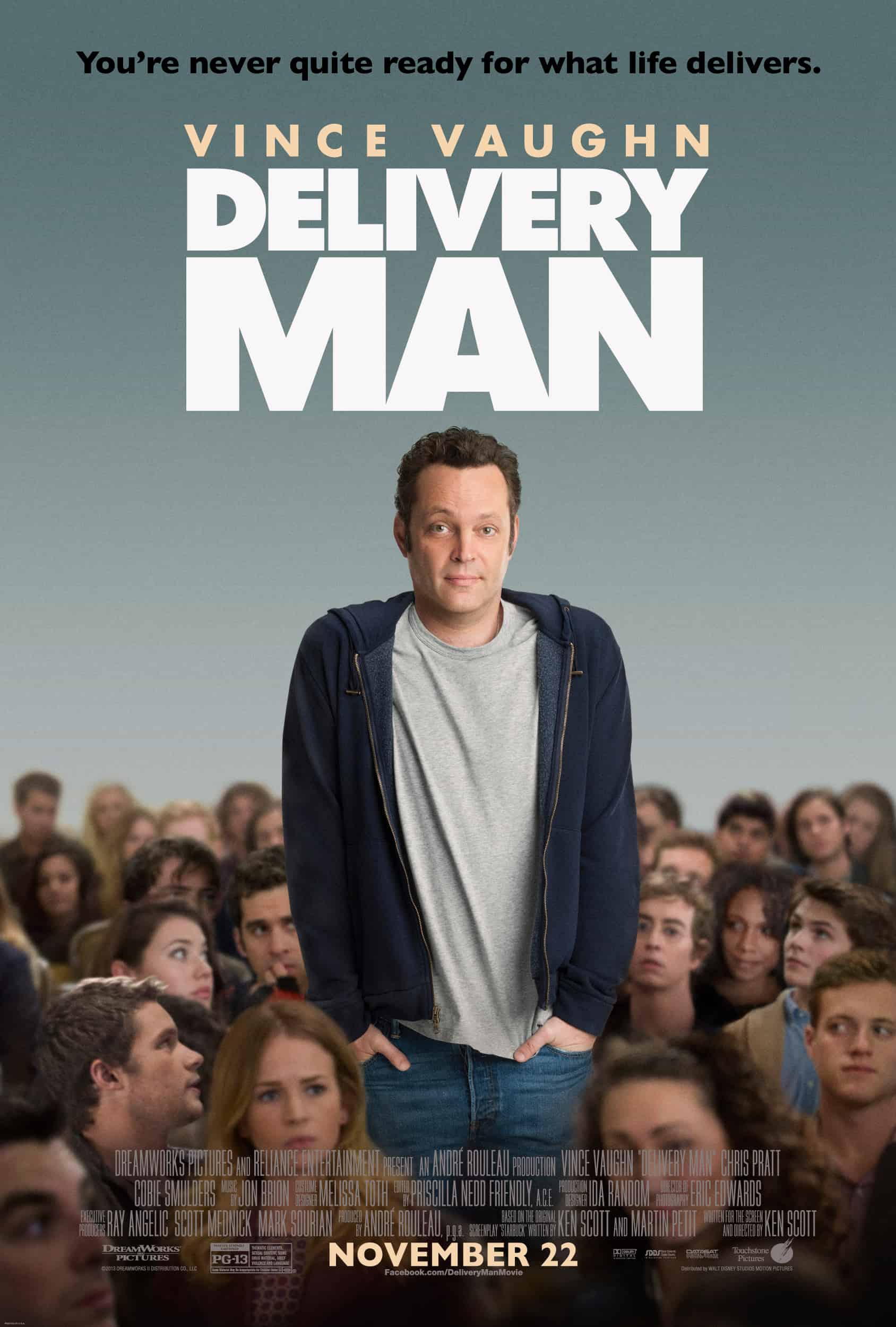 Delivery Man starring Vince Vaughn #DeliveryManMovie ...