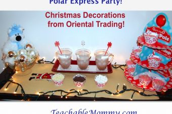 Have a Polar Express Party with Oriental Trading!