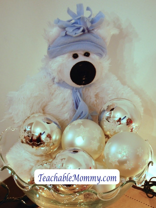 Oriental Trading Stocking Stuffer, Polar Bear plush