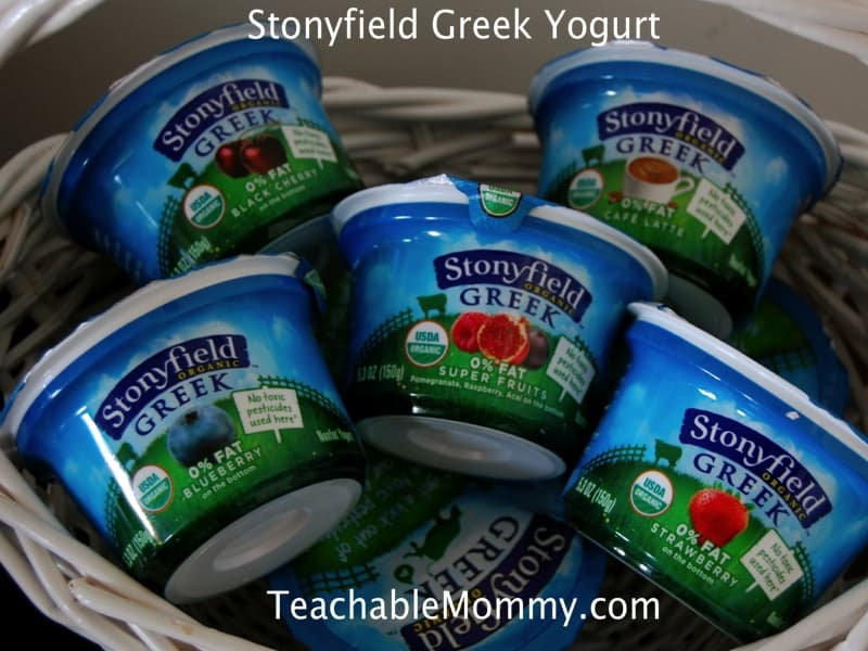 Stonyfield Greek Yogurt #StonyfieldGreek