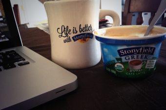 You Gotta Try This! #StonyfieldGreek Yogurt! Recipe Included!