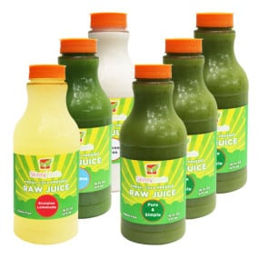 skinny limits raw juice cleanse