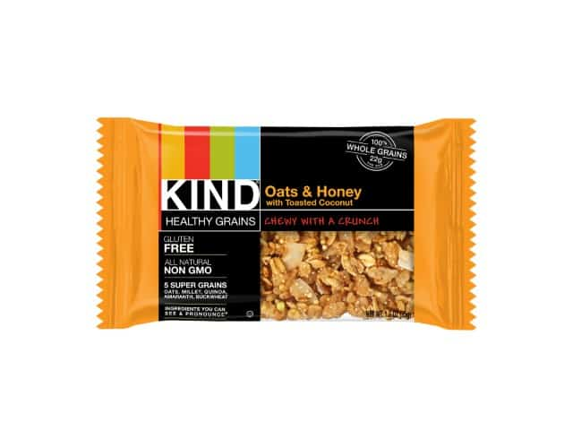 KIND Healthy Grains Bars nongmo, gluten free snacks