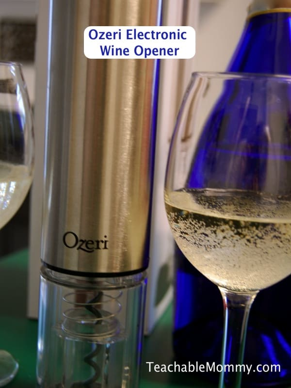Ozeri electric wine opener, wine lovers gift