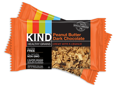 KIND healthy grains bars, nongmo, gluten free snacks
