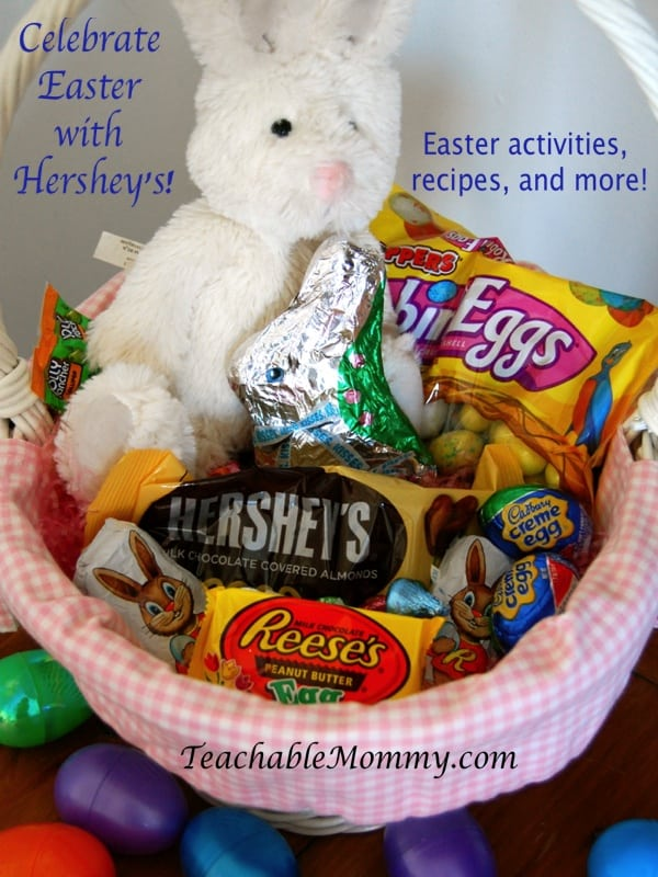 Celebrate Easter with Hershey's, Hershey's Giveaway, Easter activities, recipes, crafts