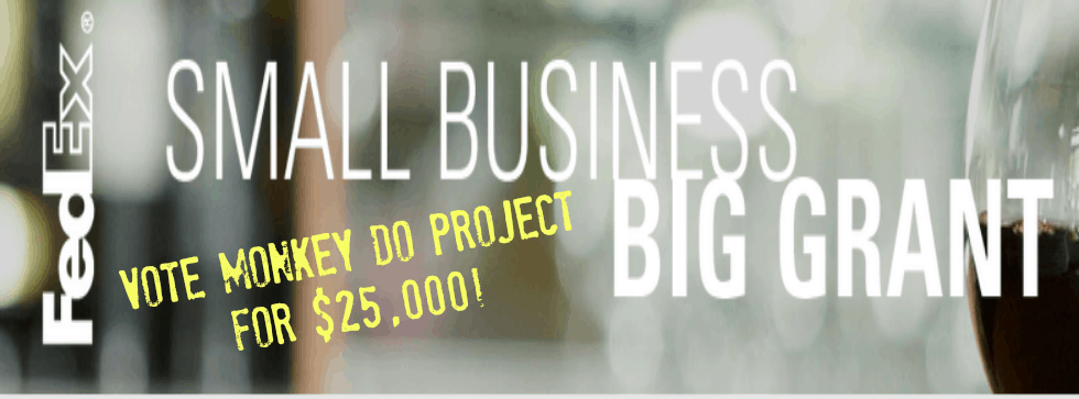 Monkey Do Project Small Business Grant