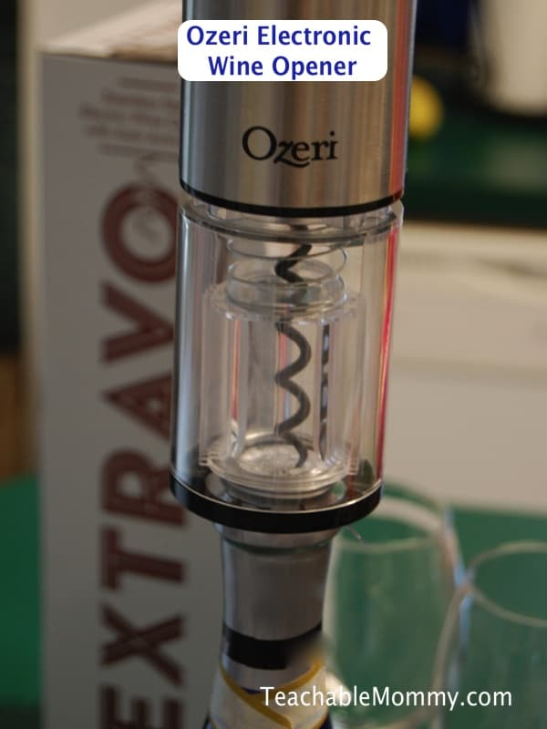 Ozeri electric wine opener, wine lovers gift