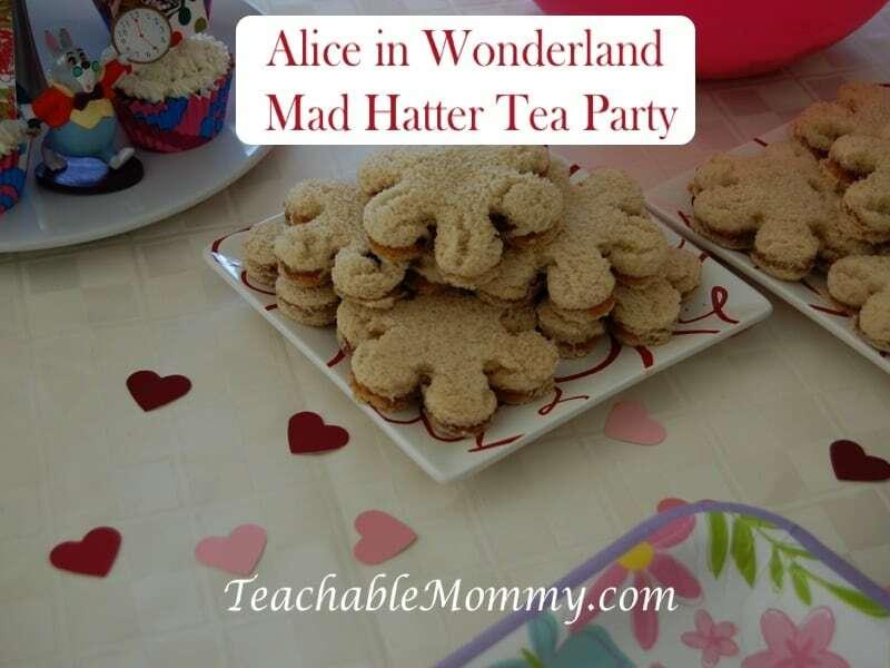 Alice in Wonderland Birthday Party, Mad Hatter Tea Party Birthday