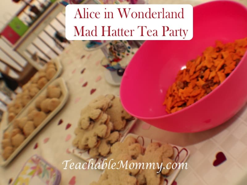 Alice in Wonderland Birthday Party, Mad Hatter Tea Party Birthday