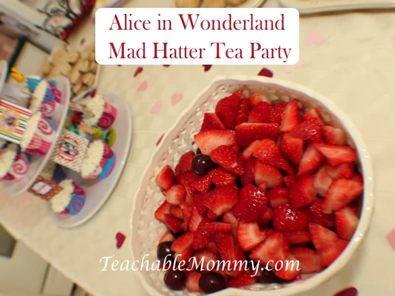Alice in Wonderland Birthday Party, Mad Hatter Tea Party Birthday,