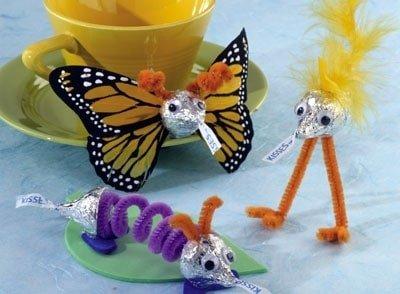 Hershey's Easter Craft, Hershey's kisses craft