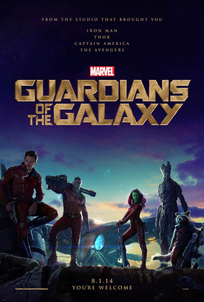 Guardians of the Galaxy trailer, movie stills, features