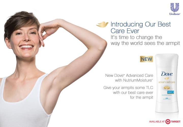 Dove New Deodorant, Dove Target Coupon