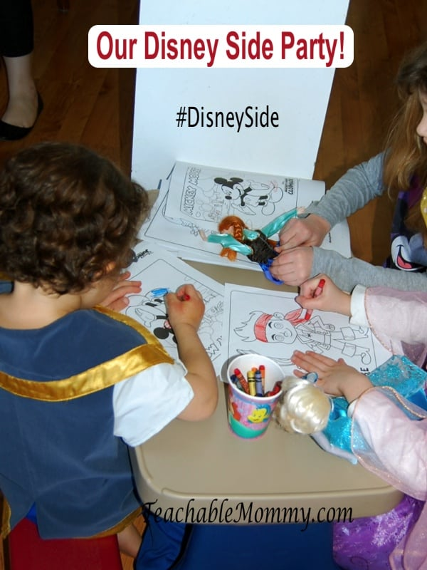 #DisneySide, Disney Junior Coloring Station