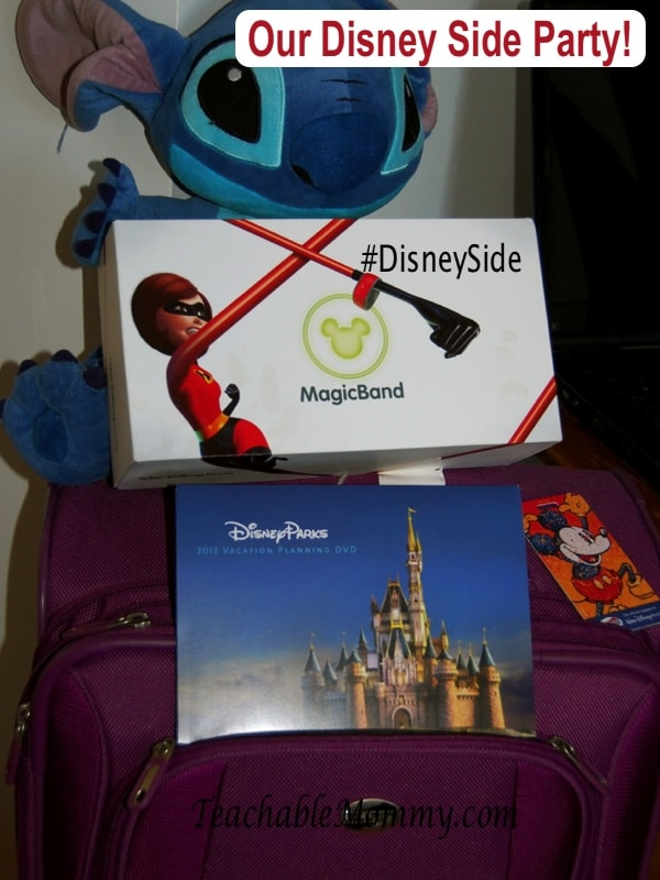 #DisneySide, Stitch, Magic Bands, Travel to Walt Disney World