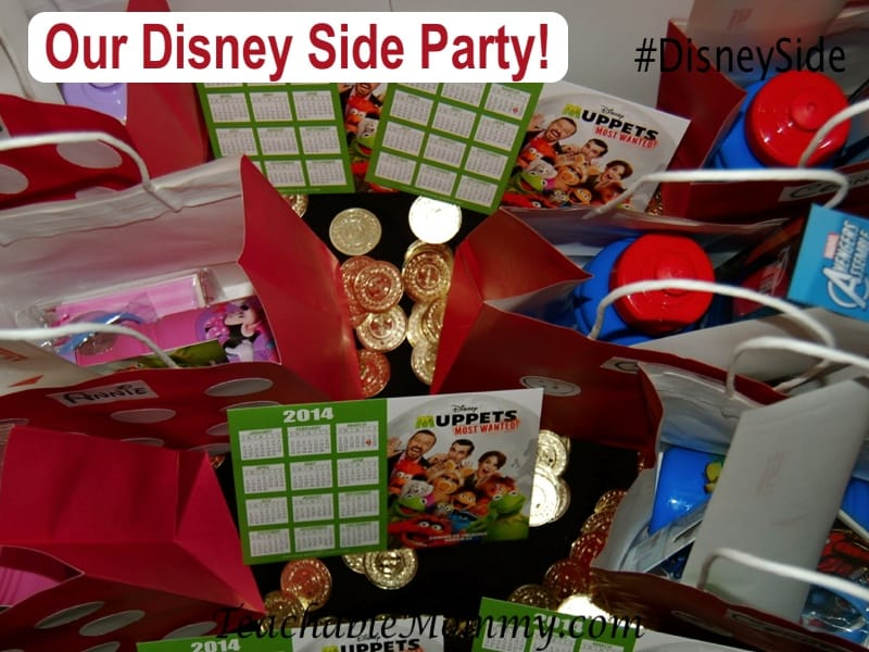 #DisneySide, Disney Goody Bags, Mickey and Minnie Bags, Pirates of the Caribbean Party, Mickey and Minnie Bags