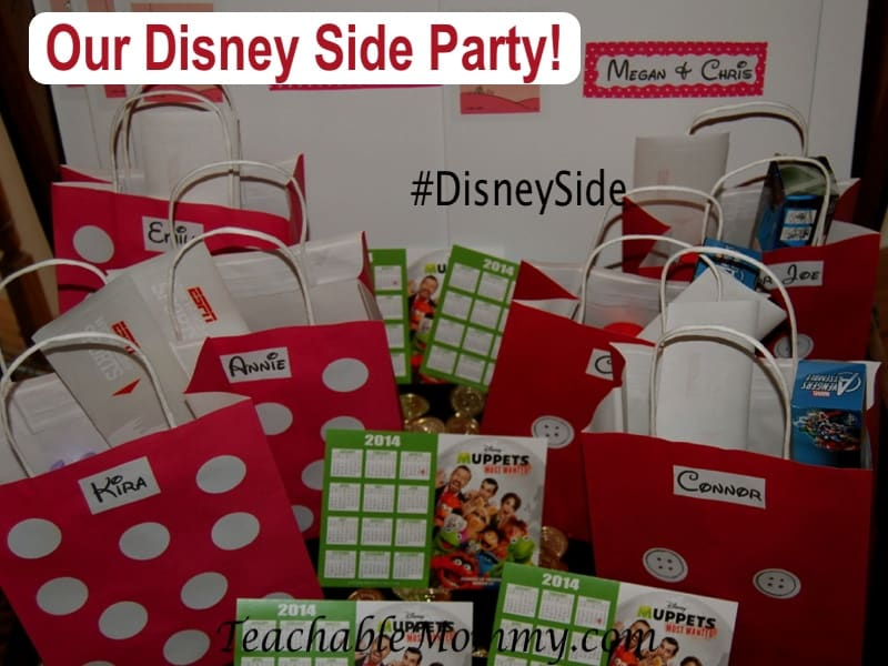 #DisneySide, Disney Goody Bags, Mickey and Minnie Bags
