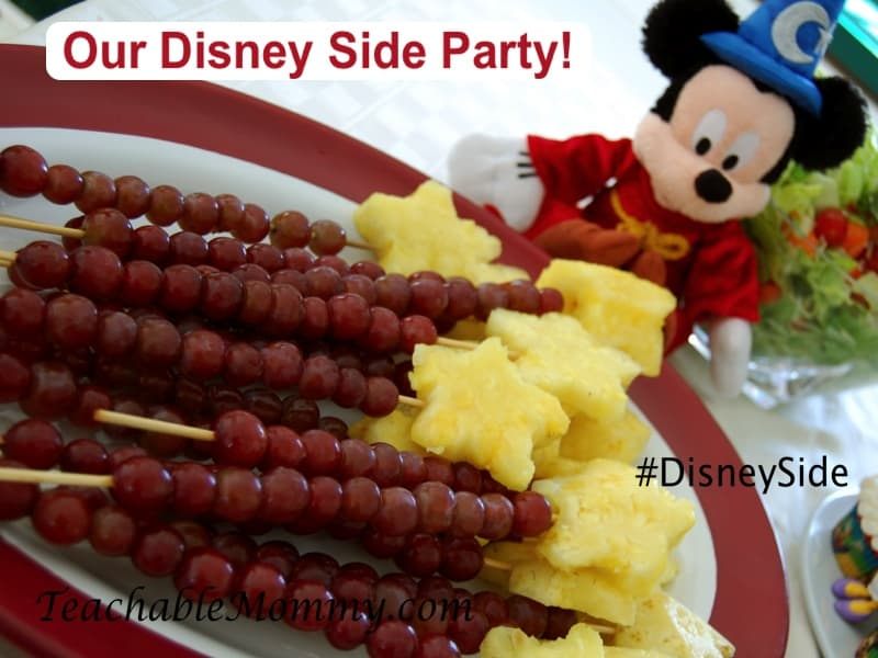#DisneySide, Mickey Mouse Party, Fantasia Party,