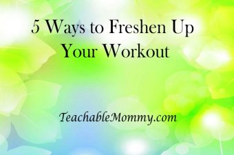 Spring has Sprung, 5 Ways to Freshen Up Your Workout