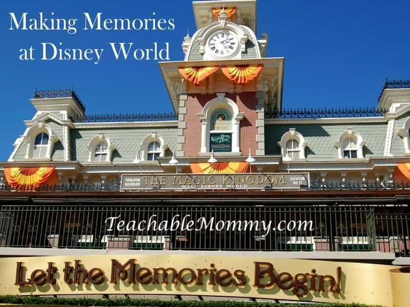 Making Memories at Disney World